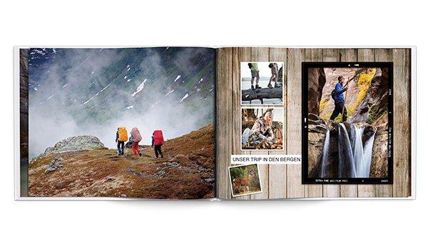 [Groupon.de] 30 Seiten Fotobuch mit Leineneinband im DIN A4 Format für 0,80€ + 4,95€ VSK