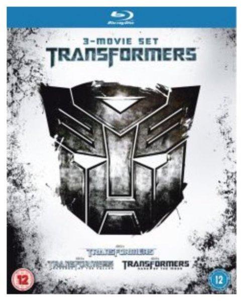 Transformers 1 - 3 Blu-Ray Box bei Zavvi.de