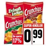 Edeka Nord Crunchips oder Erdnusslocken für 0,99€