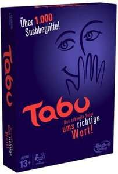 [Amazon Blitzangebot, Prime oder Buchtrick] Hasbro Tabu 2013er Edition (Vergleichspreis 22,70eur)