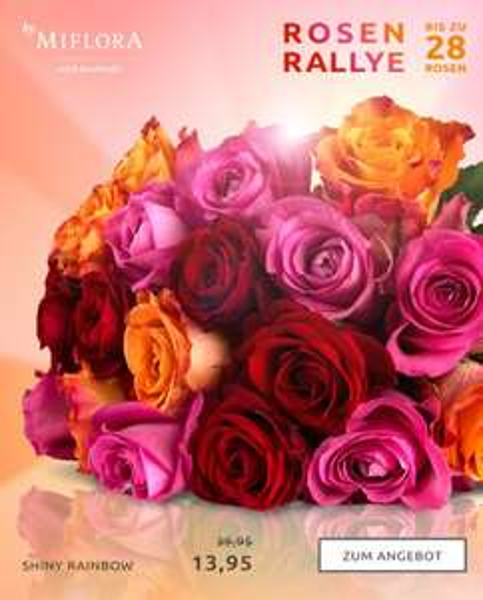 (!) Abgelaufen (!) MIFLORA Rosen Rally - SHINY RAINBOW - Bis zu 28 Rosen! Update: Alle 28/28 Rosen erreicht!!!!