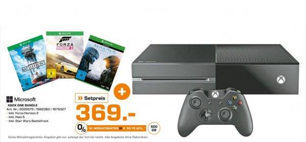 [Lokal Saturn Hamburg]  XBox One 500 GB Bundle inkl. Halo 5, Star Wars Battlefront, Forza Horizon 2
