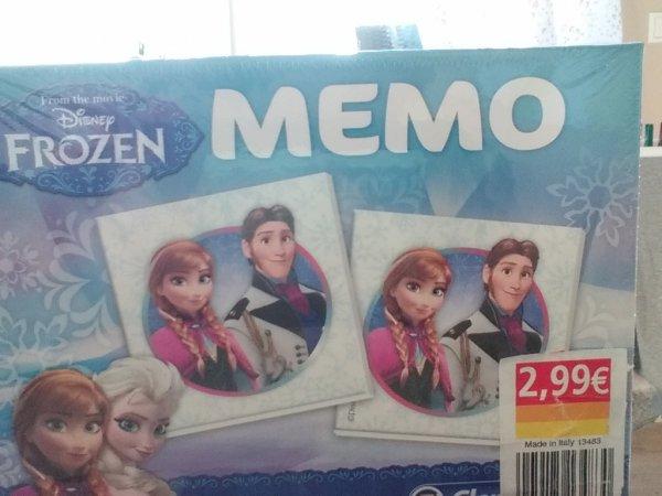 [Norma Filiale] Die Eiskönigin Memory ab 4 Jahre 2,99€ über 50%unter Geizhals