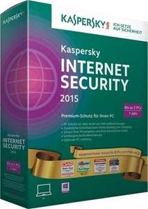 Kaspersky Internet Security 2015 5 User Gold-Edition für 29,90€ @ Cyberport - auf 2016 kostenlos upgradebar