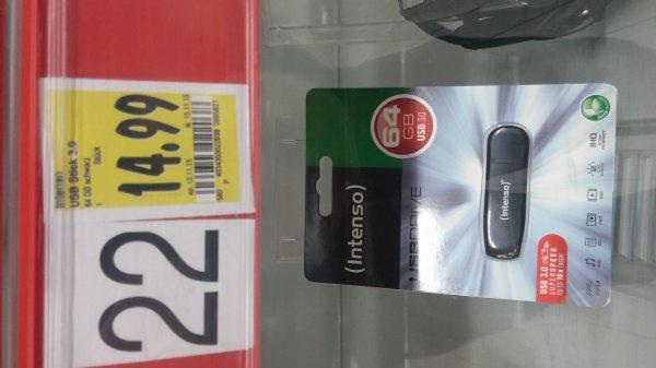 [Kaufland Köln Ehrenfeld] (lokal?) Intenso 64GB Usb Stick 3.0 für 14,99€