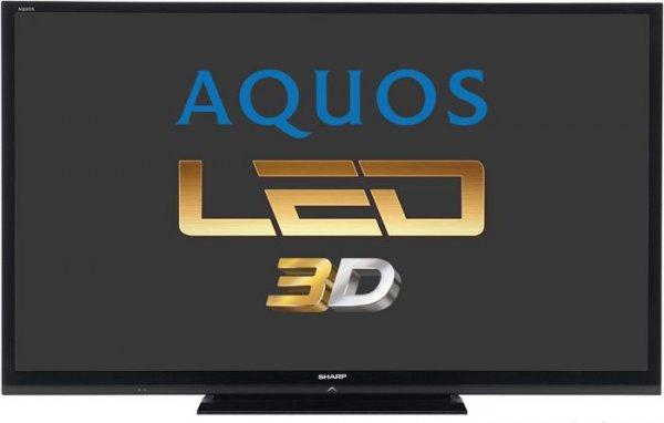 """Sharp Aquos LC-80LE657E für 3019€ @ NBB - 80"""" 3D LED TV"""
