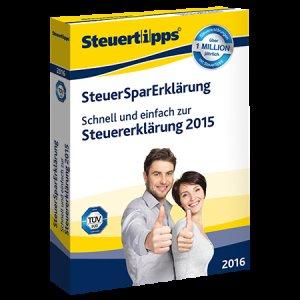 UPDATE: SteuerSparErklärung 2016 für 19,95 € als Download oder CD (inkl. Versand) im Spar-Abo (jederzeit kündbar)@Steuertipps.de