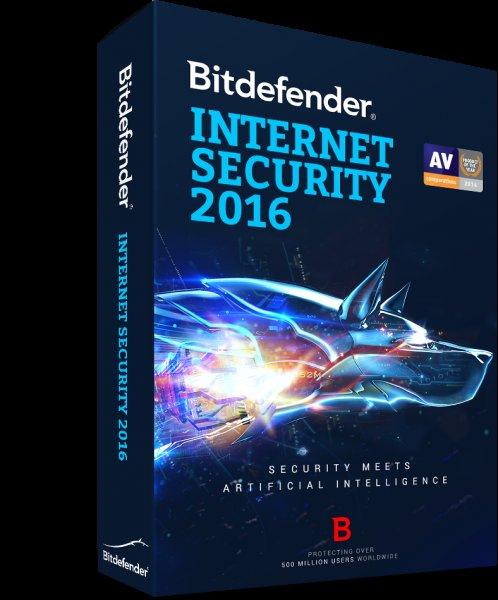 Kostenlos Bitdefender Internet Security 2015 2016 (538 Tage) 1,5 Jahre