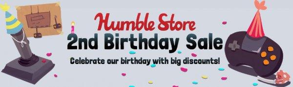 Humble Store wird 2 Jahre alt; Viele neue Games reduziert