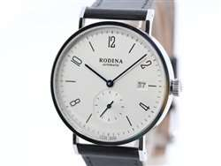 Rodina Automatic R005 / Bauhaus-Stil Automatikuhr mit Saphir-Glas zum Bestpreis aus Deutschland!