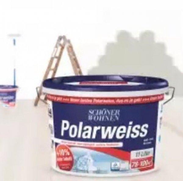 Schöner Wohnen Polarweiss 11 Liter bei Hellweg/ Preisgarantie Bauhaus