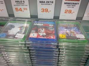(Hamburg) nba 2k16 - PS 4 fürr 39 € bei saturn