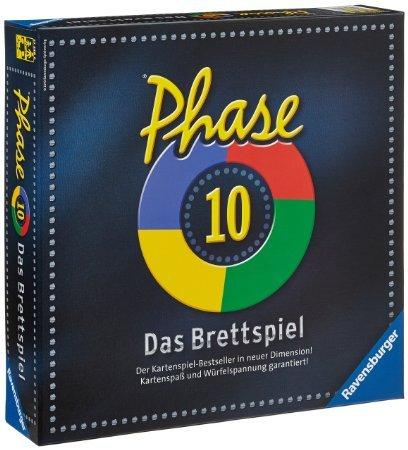Phase 10 - Das Brettspiel für 9,99€+ ggf. VSK @amazon.de