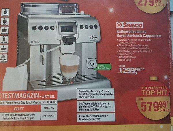 Saeco HD8930 Royal OneTouch Cappuccino METRO