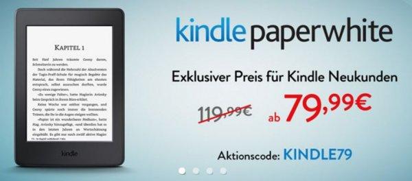[Amazon.de] Kindle Paperwhite | mit Werbung für 80€ | ohne Werbung für 100€