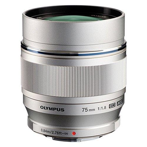 Olympus 75mm F/1.8 silber - erstklassiges MFT Objektiv zum Bestpreis @Cyberport