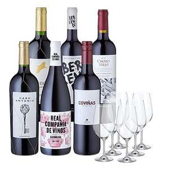 [Weinfreunde] Weinpaket Iberia inkl. 6 Schott Zwiesel Gläser