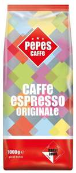 [Amazon-Sparabo] Pepes Caffè Espresso Originale, ganze Bohne, 2er Pack (2 x 1 kg) ab 11,90 € -Produkt nähert sich dem MHD (danke an navijunge)-