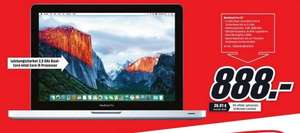 "[Lokal] MediaMarkt Berlin Apple MacBook Pro 13"" 2012 (MD101D/A) 888€"