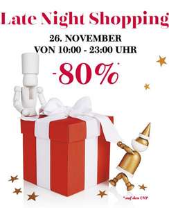 [lokal] Outlet Elstal bei Berlin - XMas Late Night Shopping 26.11 (z.B. Lacoste Polo 14€, Mustang Jeans 14€, Body Shop, Esprit, Bench, Levis...)