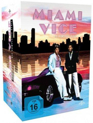 [MediaDealer] Miami Vice - Die komplette Serie / 2. Auflage (30 x DVD) für 24,98€ inc.Versand