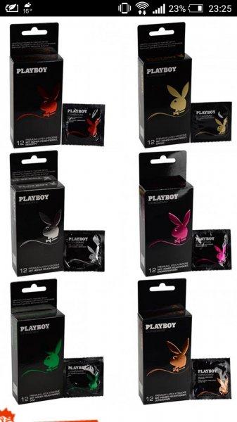 [Deallx.de] 96 Playboy Kondome verschiedene Variationen