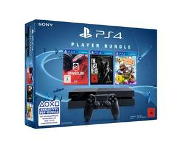 [Amazon.de] PlayStation 4 500 GB inkl. Last of Us, Little Big Planet 3 und DriveClub für 330€ inkl. Strafversand