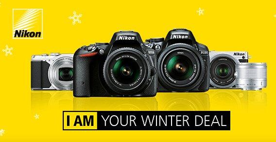 Bis zu 50€ Aktionsgutschein für Nikon Kameras@Amazon