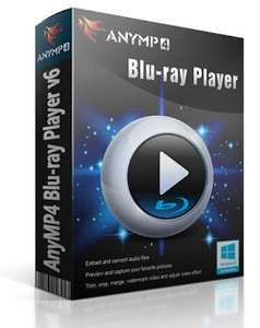 AnyMP4 Blu-ray Player 6.1 - BlueRay- und Multimediaplayer für Windows