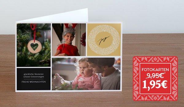 [albelli] 10 Fotokarten für 1,95€ statt 9,95€ / zzgl. 2,95€ Versand