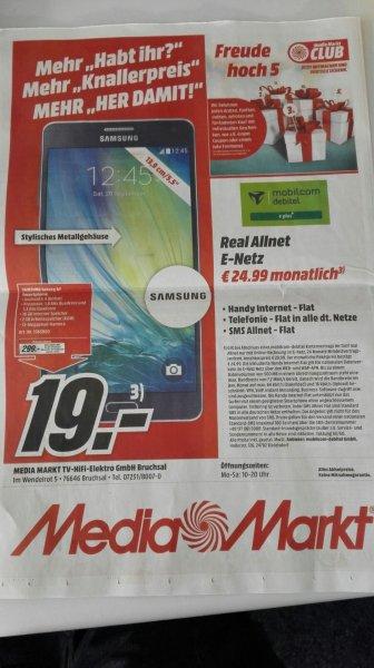 (LOKAL MediaMarkt Bruchsal) SAMSUNG Galaxy A7 (299€) und Sony Xperia Z5 (599€)