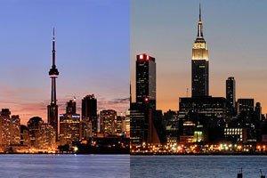 Flüge: Europa - Island - New York/Toronto ab ca. 362€ (Hin & Zurück)