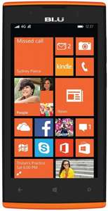 "BLU Win JR Windows Phone LTE + Dual-SIM (4,5"" FWVGA IPS, Snapdragon 410 Quadcore, 1GB RAM, 8GB intern, Update auf Win 10 Mobile) in verschiedenen Farben für ca. 83 € > [amazon.uk]"