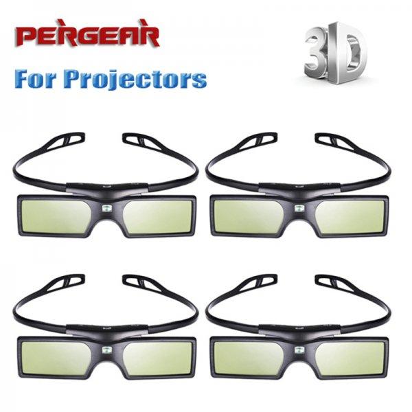 [aliexpress] 4 x G15 DLP-Link 3D Shutterbrillen 33,42