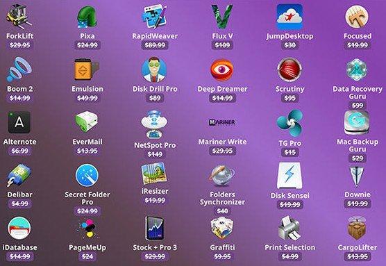 """[Mac] BundleHunt """"Create Your Mac Bundle"""" mit 10 von 30 verfügbaren Apps für $19.99"""
