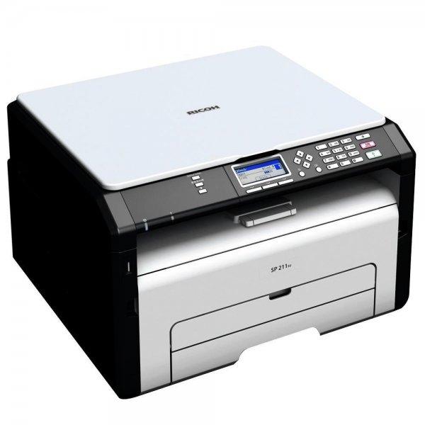 Ricoh SP 211SU Multifunktionsdrucker (Drucker, Scanner, 1200 x 600 dpi, USB 2.0) @ Ebay/Redcoon