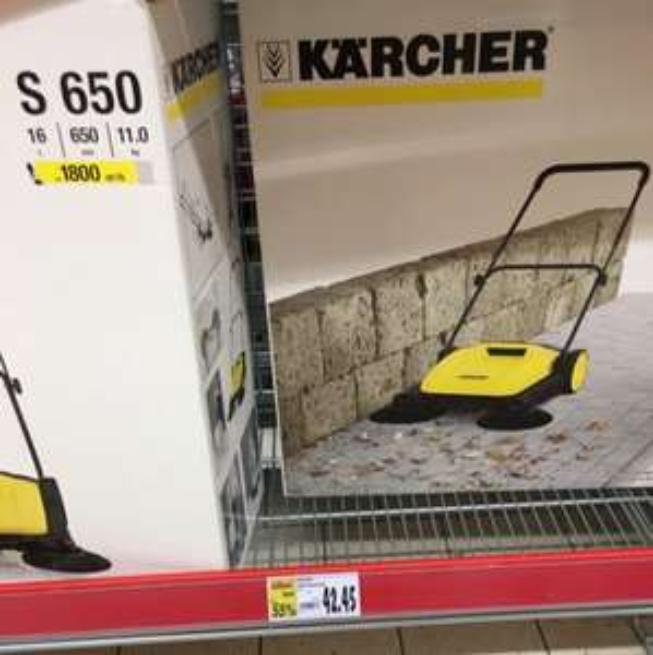 Kärcher S650 für 42.45€ bei Kaufland Wetter Ruhr