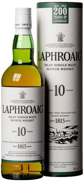 [amazonPrime] Laphroaig 10 Jahre Islay Single Malt Scotch Whisky (1 x 0.7 l) 23,99 €