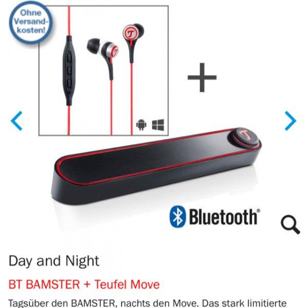 Teufel BT Bamster & Teufel Move für 99,99€