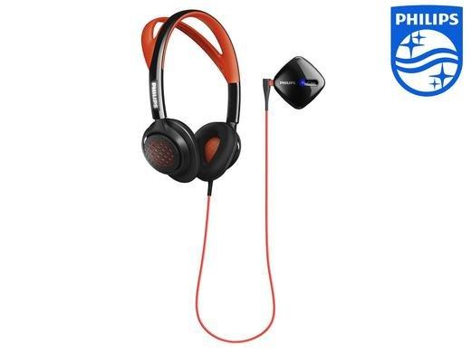 [iBOOD] Philips SHQ 6300 Actionfit Sportkopfhörer Farbe: Rot Bluetooth