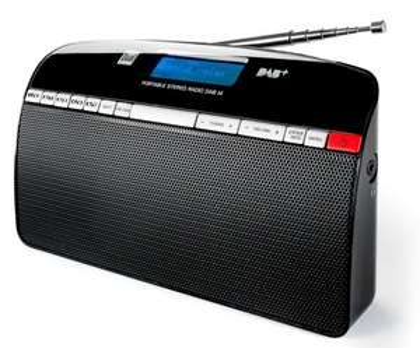 DAB+ Radio Dual DAB 14 Kofferradio Schwarz für 33,90 € @ Conrad.de
