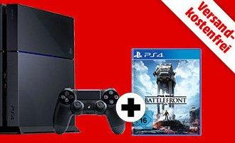 PS4 1T Ultimate Player Edition + Star Wars Battlefront @MediaMarkt