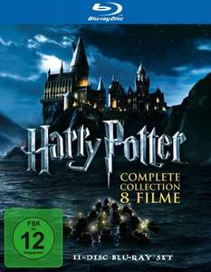 Harry Potter 1-7 - Complete Collection BLURAY @ Amazon 39,97€