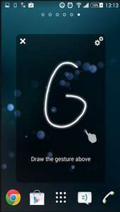 [Android Giveaway of the day] iGest – Gesture Launcher