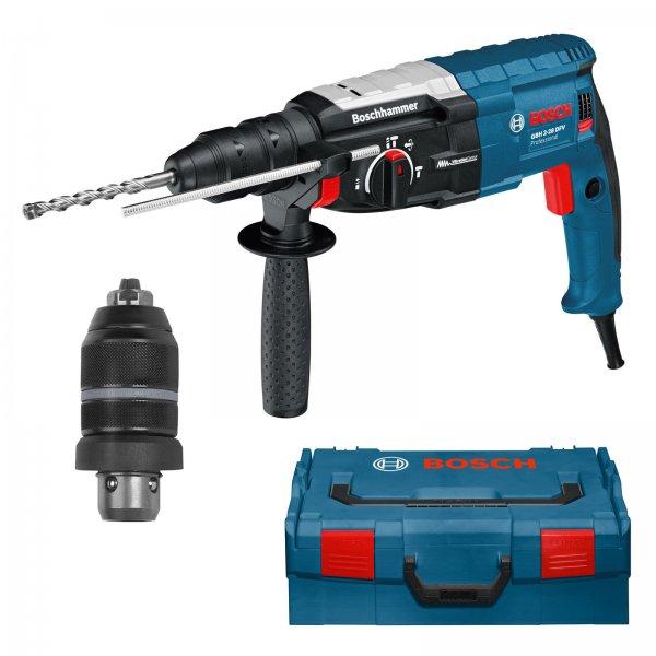 Bosch Bohrhammer GBH 2-28 DFV + L-BOXX + Wechselfutter, 189,90 EUR @ ebay