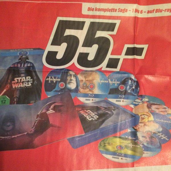 [Media Markt] Star Wars Die komplette Saga Blu Ray