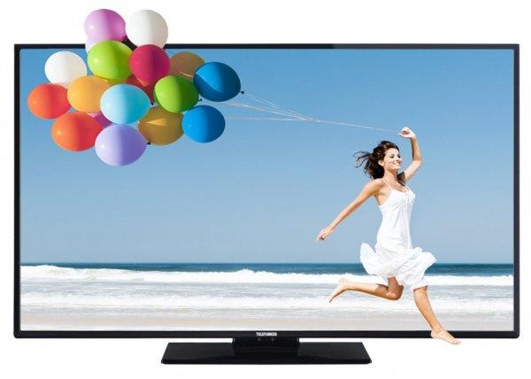 Blitzangebot: Telefunken L48F249X3CW-3D 122 cm (48 Zoll) Fernseher (Full HD, Triple Tuner, 3D, Smart TV) für 449,99 Euro inkl. Versand