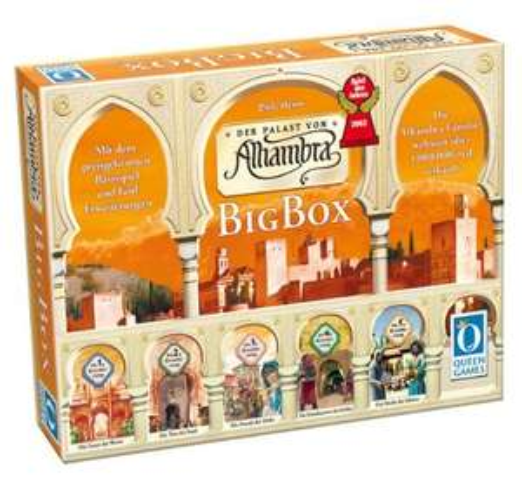 [Amazon] Alhambra Big Box, Spiel des Jahres 2003 (Brettspiel) - Blitzangebot