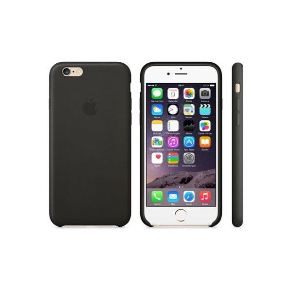 Apple Leder Case Schwarz (iPhone 6 Plus)