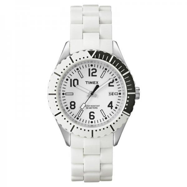 [Uhr.de] Timex Originals Modern Sport T2P006 stylische Damenuhr aus Kunststoff